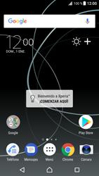 Sincroniza el equipo con una PC - Sony Xperia XZ Premium - Passo 1