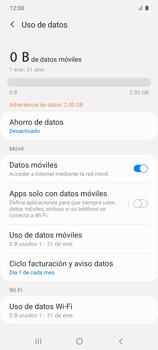 Verificar el uso de datos por apps - Samsung Galaxy S10 Lite - Passo 5