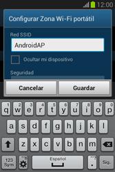 Configura el hotspot móvil - Samsung Galaxy Fame Lite - S6790 - Passo 8