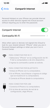Configura el hotspot móvil - Apple iPhone XS - Passo 8