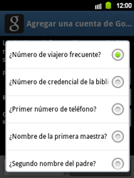 Crea una cuenta - Samsung Galaxy Y  GT - S5360 - Passo 11