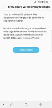 Restaura la configuración de fábrica - Samsung Galaxy S9 - Passo 8