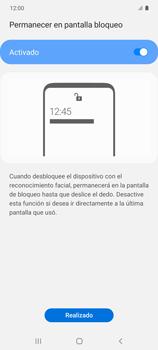 Cómo configurar el Face ID - Samsung Galaxy S10 Lite - Passo 14