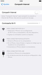Configura el hotspot móvil - Apple iPhone 6 Plus - Passo 6