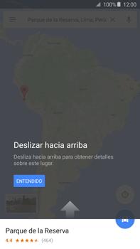 Uso de la navegación GPS - Samsung Galaxy Note 5 - N920 - Passo 8