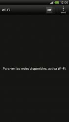 Configura el WiFi - HTC ONE X  Endeavor - Passo 5