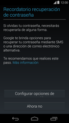 Crea una cuenta - Motorola Moto E (1st Gen) (Kitkat) - Passo 11