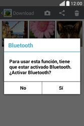 Transferir fotos vía Bluetooth - LG L40 - Passo 8