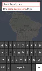 Uso de la navegación GPS - Nokia Lumia 720 - Passo 9