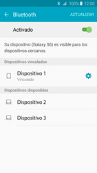 Conecta con otro dispositivo Bluetooth - Samsung Galaxy S6 - G920 - Passo 8