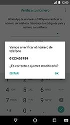 Configuración de Whatsapp - LG K8 (2017) - Passo 9