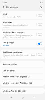 Cómo activar el modo avión - Samsung Galaxy A51 - Passo 4