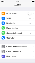 Desactiva tu conexión de datos - Apple iPhone 5s - Passo 2