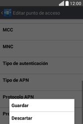 Configura el Internet - LG L40 - Passo 16