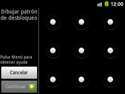 Desbloqueo del equipo por medio del patrón - Samsung Galaxy Y Pro GT - B5510 - Passo 9