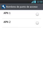 Configura el Internet - LG Optimus L7 - Passo 18
