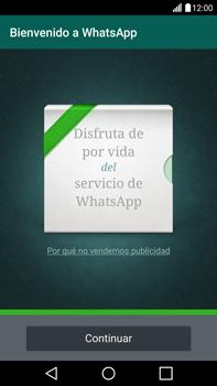 Configuración de Whatsapp - LG V10 - Passo 9