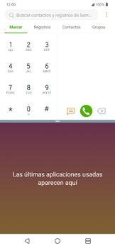 Cómo ver dos aplicaciones a la vez en pantalla - LG K50s - Passo 5