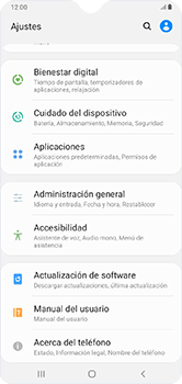 Restaura la configuración de fábrica - Samsung Galaxy A10 - Passo 4