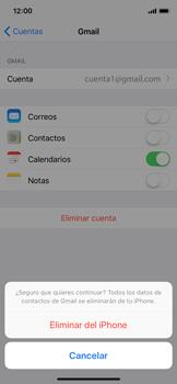 Desactivar la sincronización automática - Apple iPhone X - Passo 6