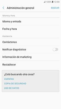 Restaura la configuración de fábrica - Samsung Galaxy A7 2017 - A720 - Passo 5