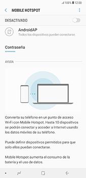 Configura el hotspot móvil - Samsung A7 2018 - Passo 7