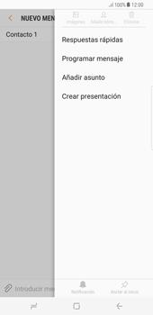 Envía fotos, videos y audio por mensaje de texto - Samsung Galaxy S8+ - Passo 8