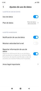 Desactivación límite de datos móviles - Xiaomi Redmi Note 9 Pro - Passo 6