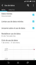 Desactivación límite de datos móviles - HTC Desire 626s - Passo 6
