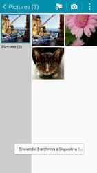 Transferir fotos vía Bluetooth - Samsung Galaxy A3 - A300M - Passo 15