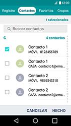 Envía fotos, videos y audio por mensaje de texto - LG K4 - Passo 7