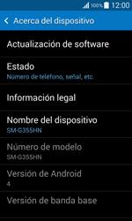 Actualiza el software del equipo - Samsung Galaxy Core 2 - G355 - Passo 6