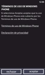Activa el equipo - Nokia Lumia 800 - Passo 6