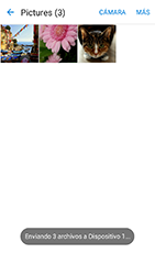 Transferir fotos vía Bluetooth - Samsung Galaxy J3 - J320 - Passo 13