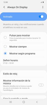 Cómo activar Always on Display - Samsung Galaxy S20 - Passo 8