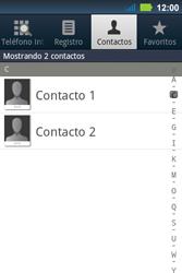 ¿Tu equipo puede copiar contactos a la SIM card? - Motorola MotoSmart Me  XT303 - Passo 4