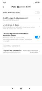 Configura el hotspot móvil - Xiaomi Redmi Note 7 - Passo 7