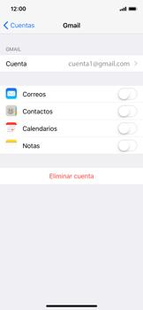 Desactivar la sincronización automática - Apple iPhone X - Passo 9