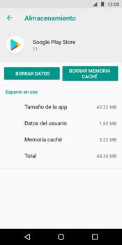 Limpieza de aplicación - Motorola Moto E5 - Passo 7