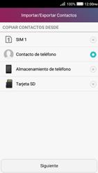 ¿Tu equipo puede copiar contactos a la SIM card? - Huawei Y3 II - Passo 6
