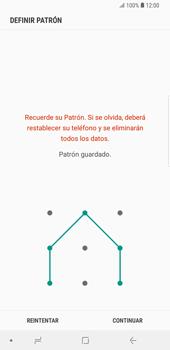 Desbloqueo del equipo por medio del patrón - Samsung Galaxy S9 Plus - Passo 8