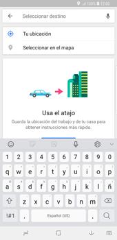 Uso de la navegación GPS - Samsung Galaxy S9 Plus - Passo 13
