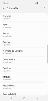 Configura el Internet - Samsung S10+ - Passo 11