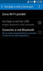 Configura el hotspot móvil - Samsung Galaxy Core 2 - G355 - Passo 5