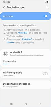 Configura el hotspot móvil - Samsung Galaxy A10 - Passo 12
