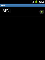 Configura el Internet - Samsung Galaxy Y  GT - S5360 - Passo 7