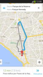 Uso de la navegación GPS - Samsung Galaxy Zoom S4 - C105 - Passo 10