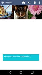 Transferir fotos vía Bluetooth - LG K10 - Passo 12