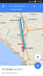 Uso de la navegación GPS - Samsung Galaxy A5 - A500M - Passo 16