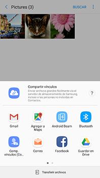 Transferir fotos vía Bluetooth - Samsung Galaxy A7 2017 - A720 - Passo 10